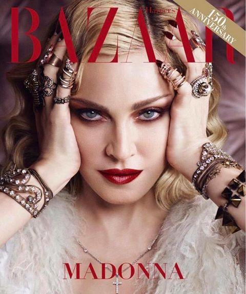 "Photo of Madonna su Harpers Bazaar: ""mi fermerò quando mi ammazzerete"""