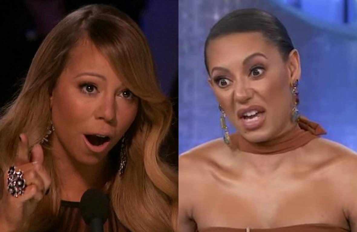 """Photo of Mel B la tocca piano: """"Forse Mariah Carey non ha più voce!"""""""