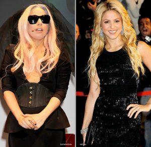 Shakira-Lady-Gaga
