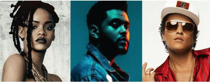 Photo of Rihanna, The Weeknd e Bruno Mars insieme per il tributo a Prince!