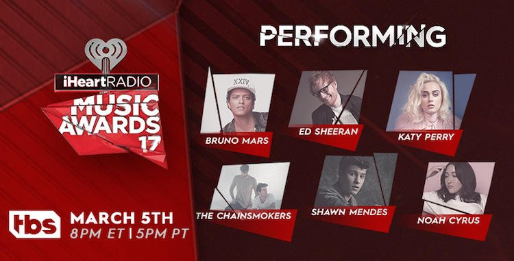 Photo of Da Katy Perry a Ed Sheeran: ecco chi si esibirà agli iHeartRadio Music Awards
