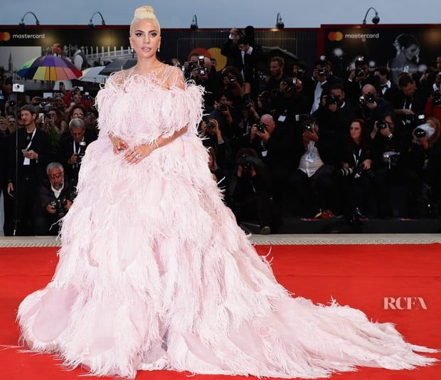 Lady Gaga In Valentino Haute Couture A Star Is Born Venice Film Festival Premiere