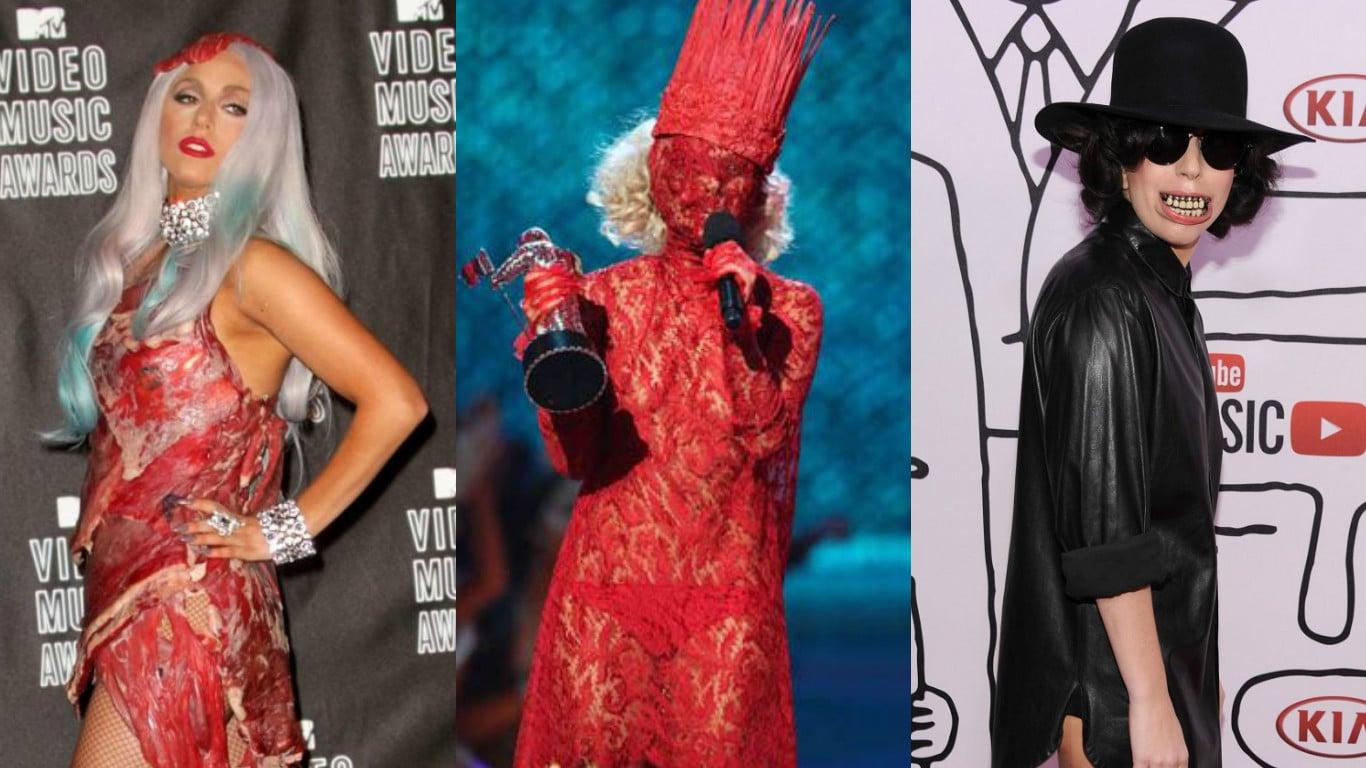 Photo of 24 look ed abiti di Lady Gaga che ti hanno letteralmente scioccato!