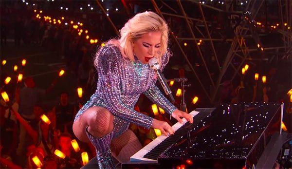 lady gaga video superbowl performance
