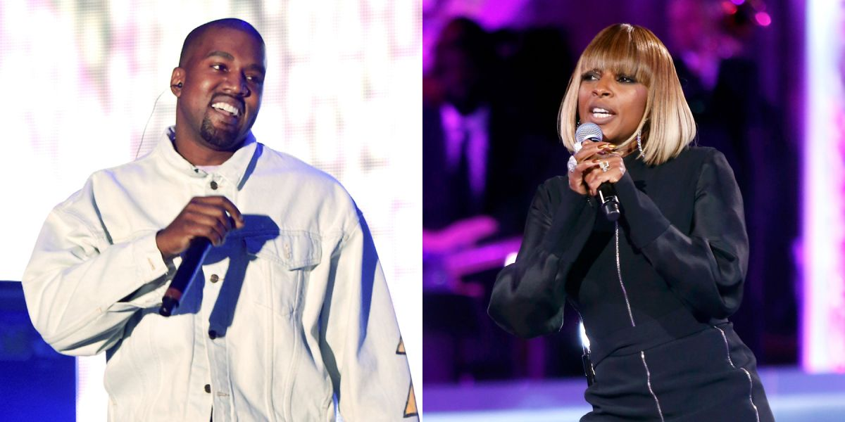 mary j. blige kanye west love yourself