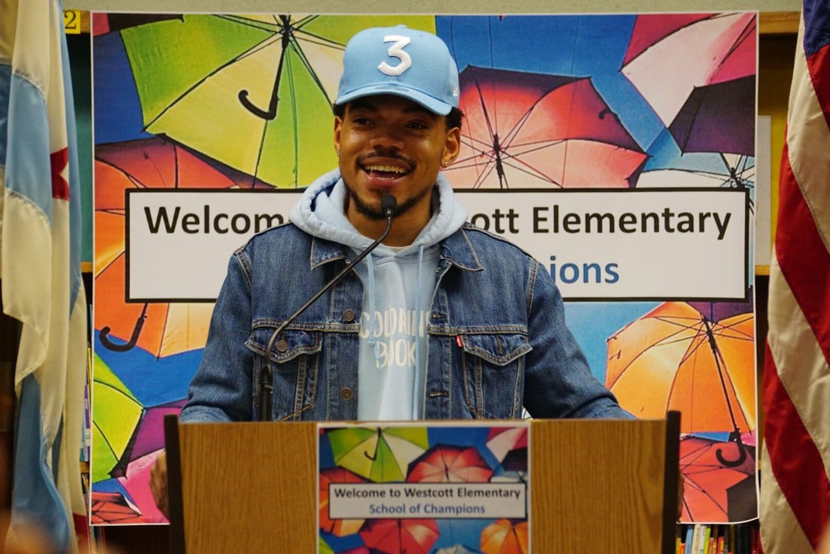 Photo of Chance The Rapper: un milione di dollari alle scuole pubbliche di Chicago!