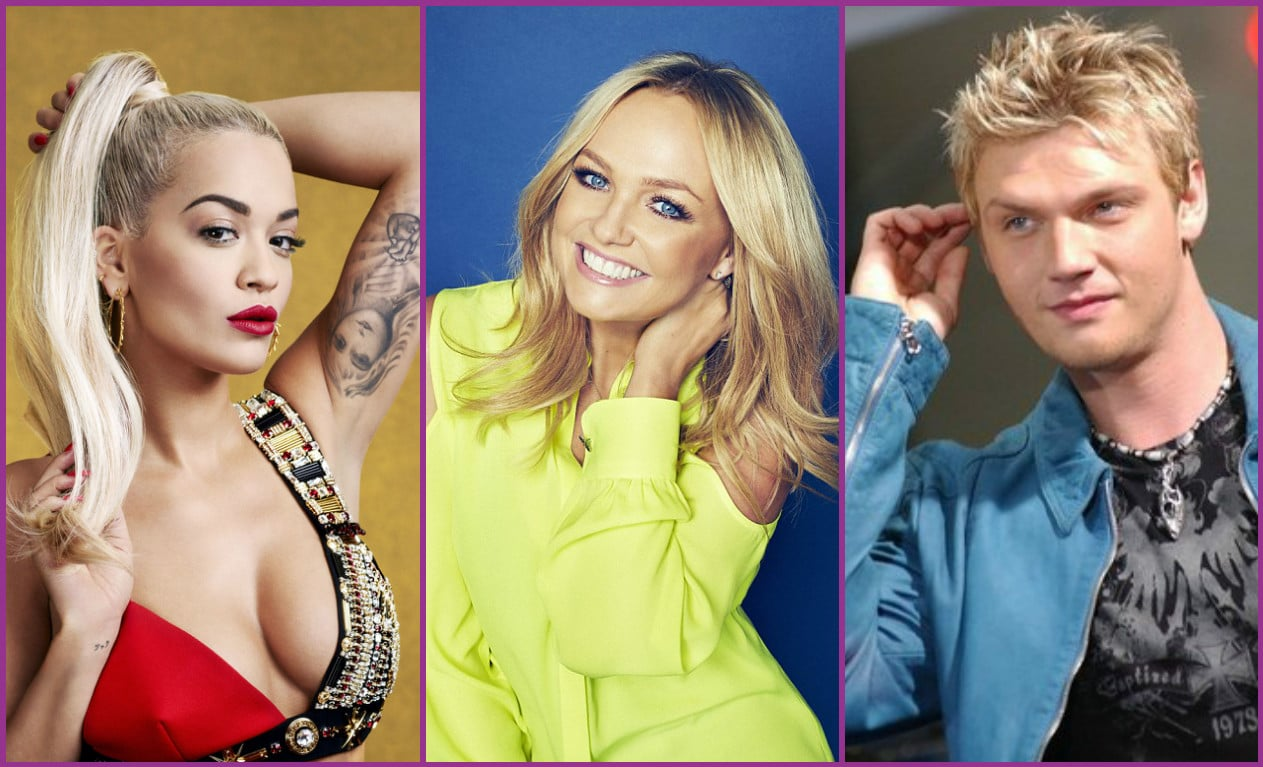 "Photo of Rita Ora, Emma Bunton e Nick Carter nel talent ""Boy Band"""