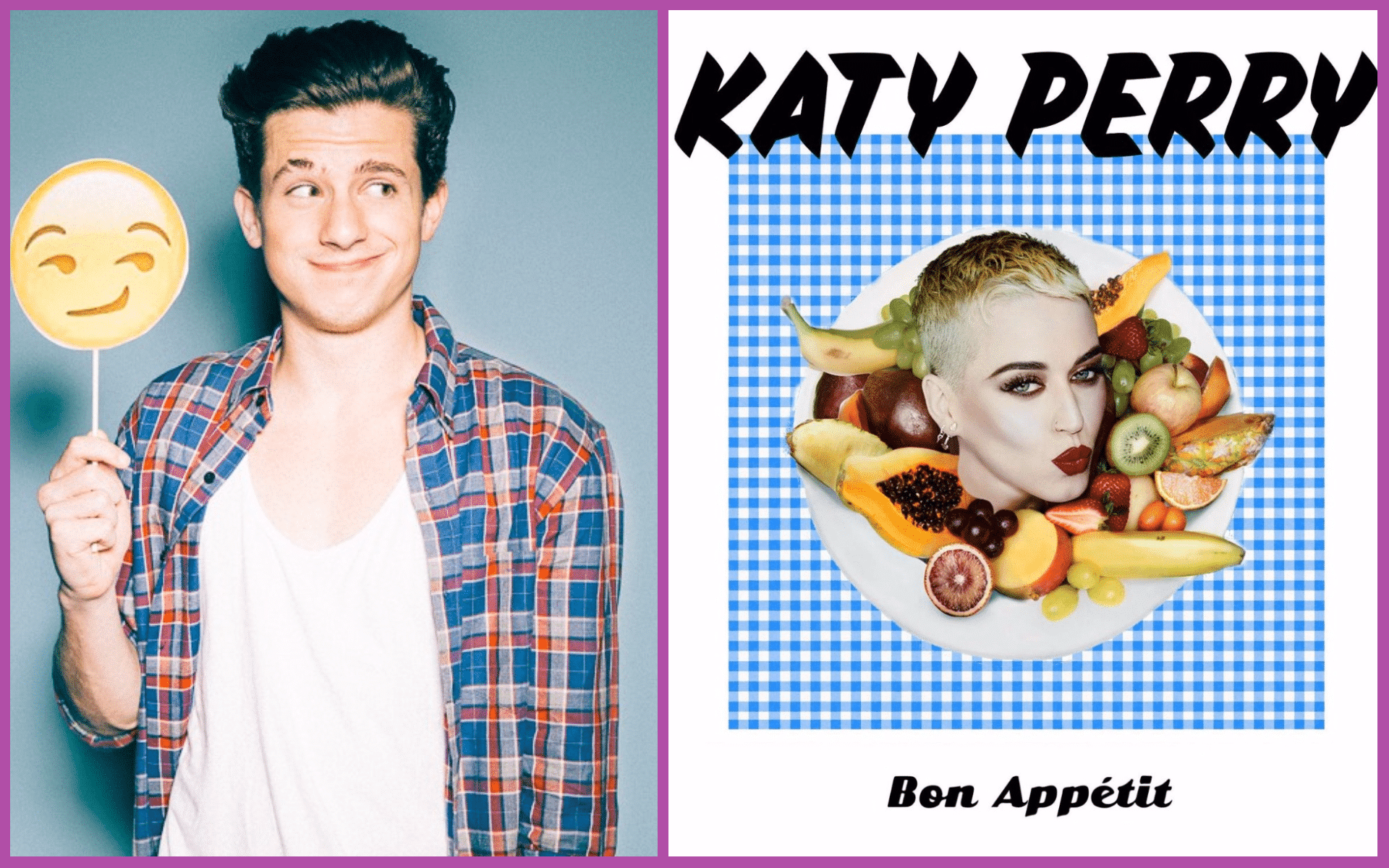 Photo of Charlie Puth canta Bon Appétit di Katy Perry in versione acustica