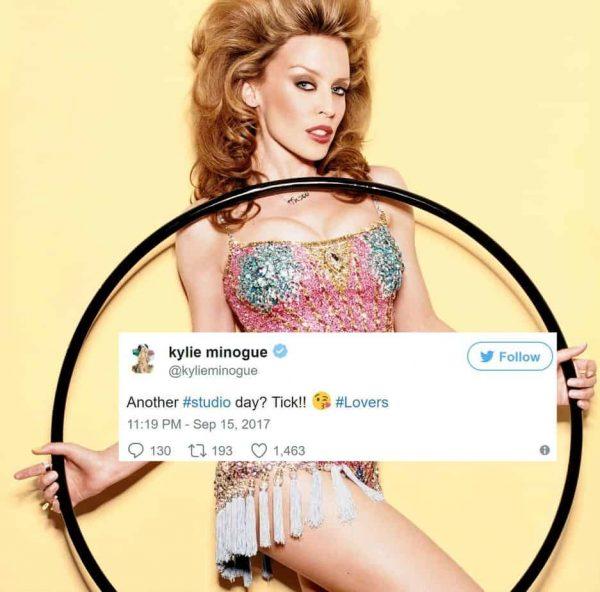 Kylie Regina Gay Nuovo Album