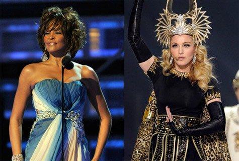 Whitney e Madonna lite tra dive