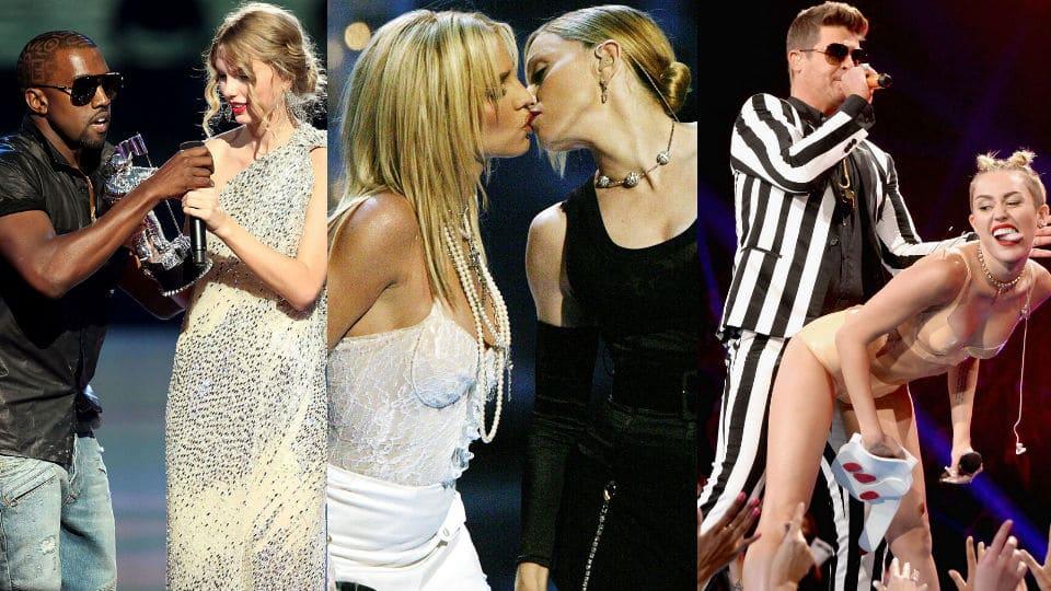 Photo of VMAs: 10 momenti più ASSURDI nella storia dello show!