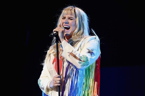 Kesha Performs Onstage During Global Citizen The World On Stage 2016