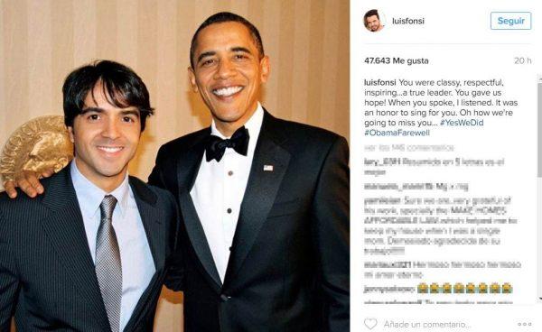 Ha cantato per il presidente Barack Obama!