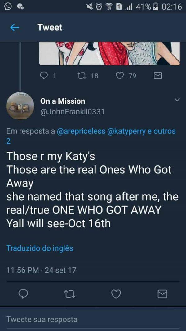 Katy Perry Stalker Fans Minaccia