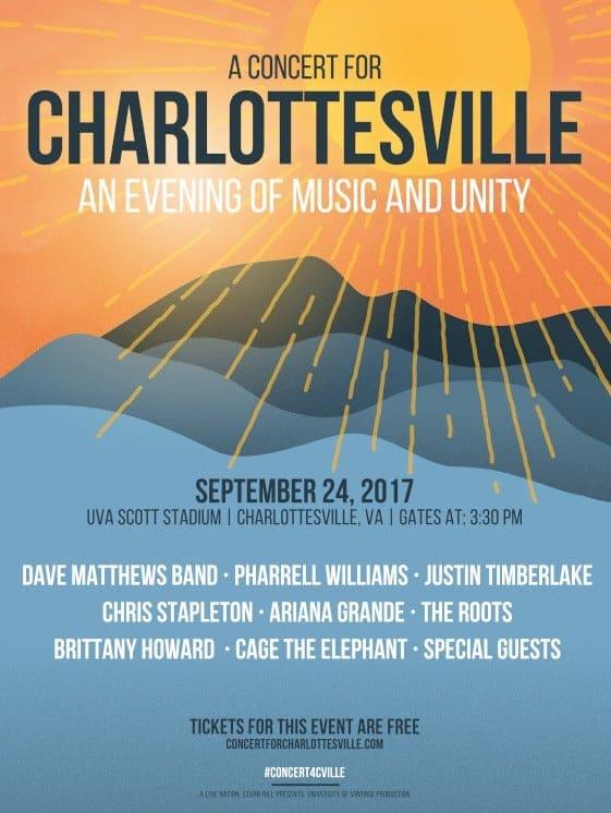 Concert Charlottesville Tgj
