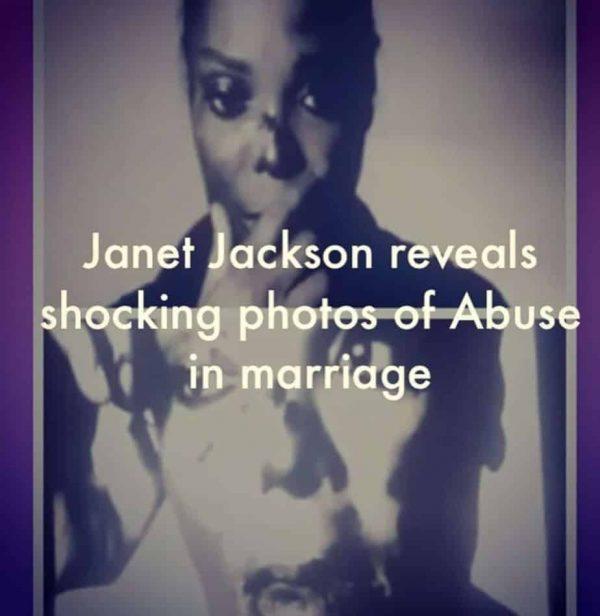 Janet Jackson Picchiata