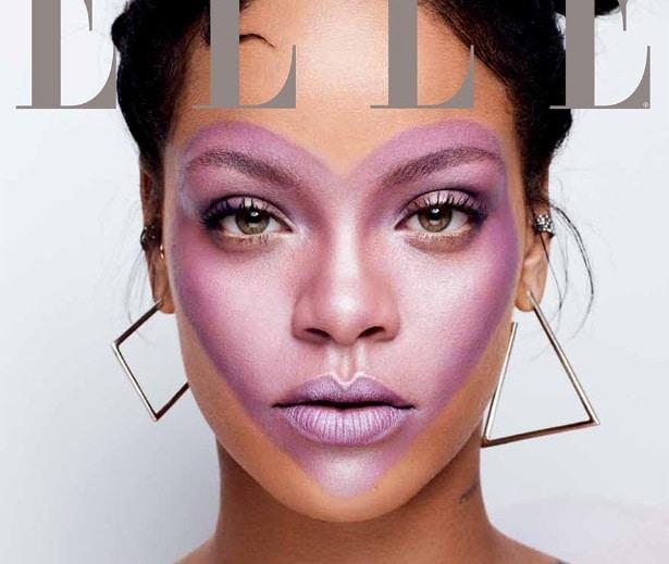Photo of Rihanna splende su Elle e celebra il lancio della linea di cosmetici (FOTO)