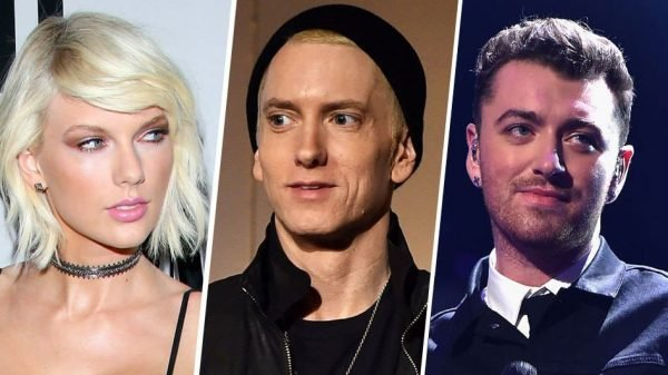 Sam Smith Taylor Swift Eminem Sfida