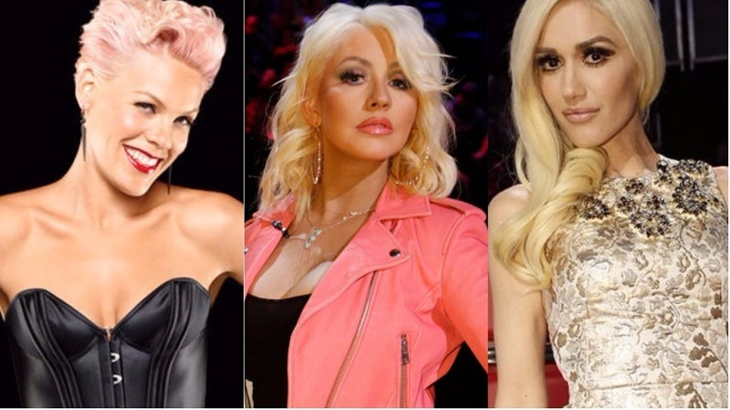 Photo of P!nk, Christina Aguilera, Gwen Stefani in un unico album!