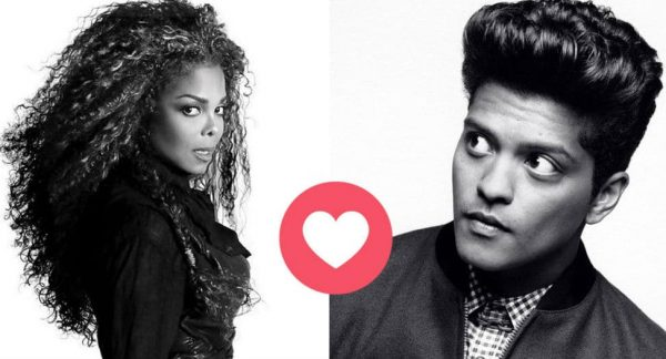 Janet Jackson collabo Bruno Mars