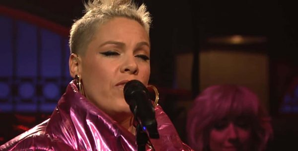Pink Live Saturday Night Live 17