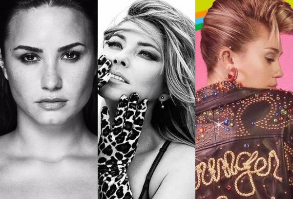 album vendite demi miley shania
