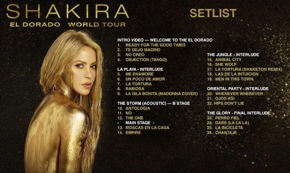 Guai corde vocali, Shakira rimanda tour