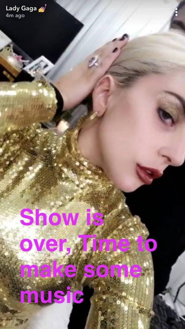 Lady Gaga studio di registrazione 2018