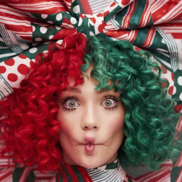 Sia Christmas Album Artwork