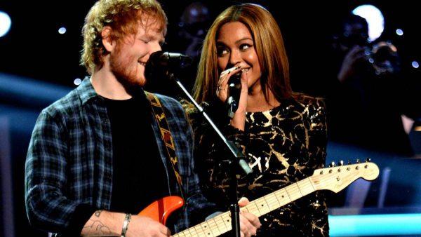 Beyonce Ed Sheeran