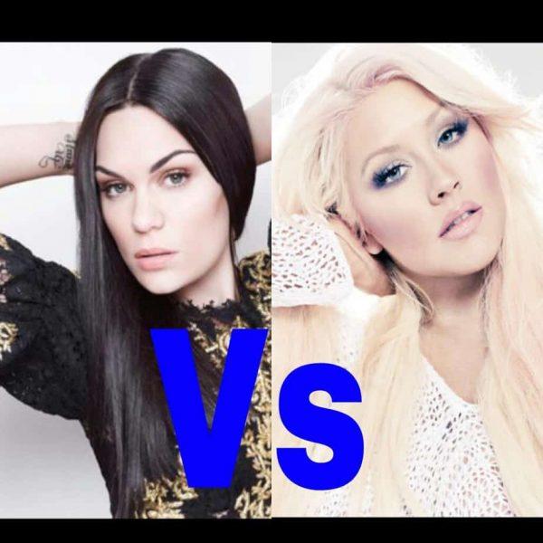 Jessie J Christina Aguilera