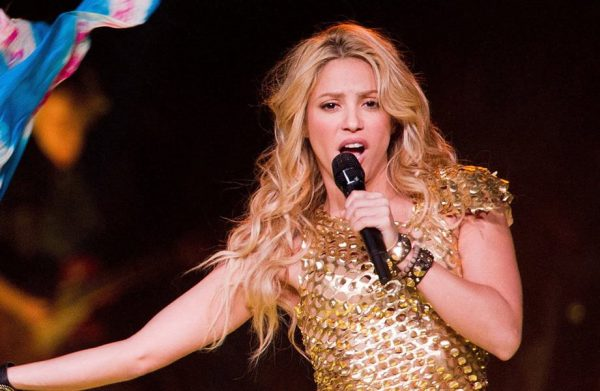 Shakira a Milano Giugno 2018