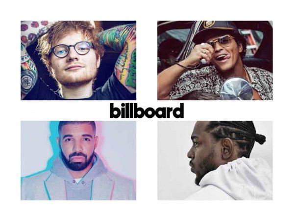 billboard cantanti successo 2017