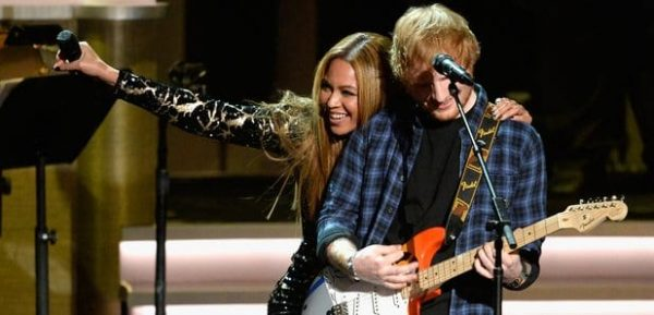 Beyonce Ed Sheeran Numero 1 BIllboard Hot 100