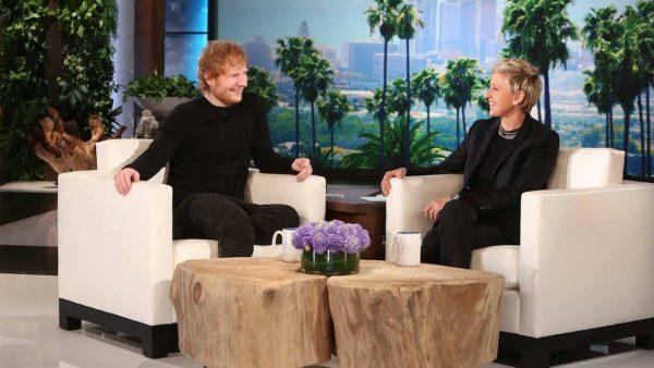 Ellen Ed Sheeran