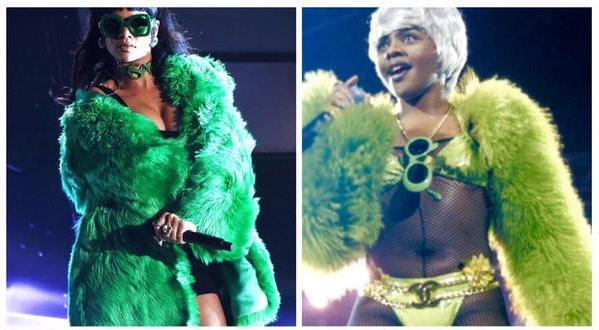 Rihanna Lill Kim