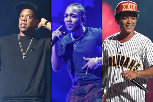 Jay-Z flop ai Grammy, Bruno mars vince tutto