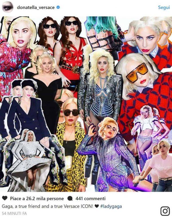 Lady Gaga Donatella Milano Concerto