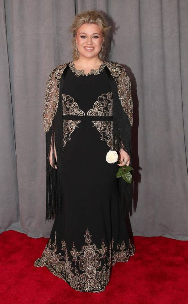 Rs 634X1024 180128151501 634 Kelly Clarkson Red Carpet Fashion 2018 Grammy Awards