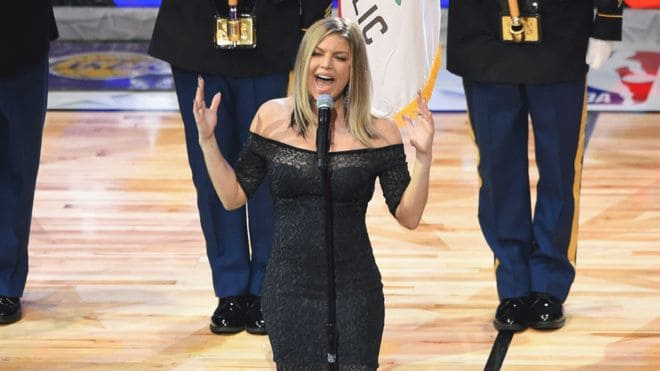 Photo of Fergie, online il video delle prove dell'inno nazionale all'All Star Game NBA