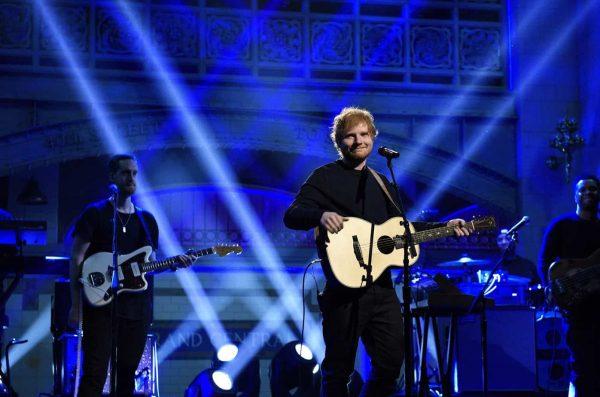 Ed Sheeran Snl Live Feb 2017 Billboard 1548