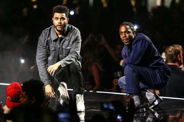 Kendrick Lamar The Weeknd