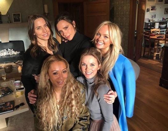 Il video della reunion delle Spice Girls a casa Halliwell