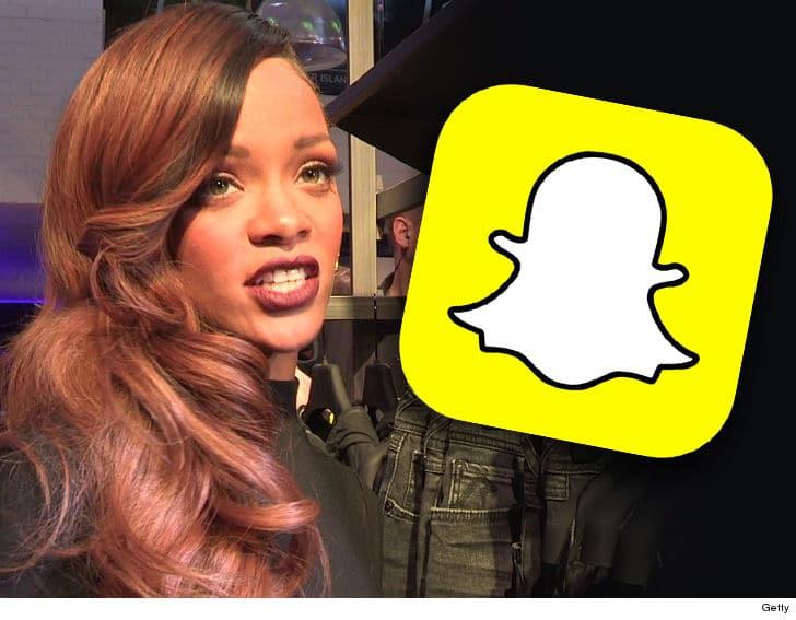 0315 Rihanna Snapchat Getty 3