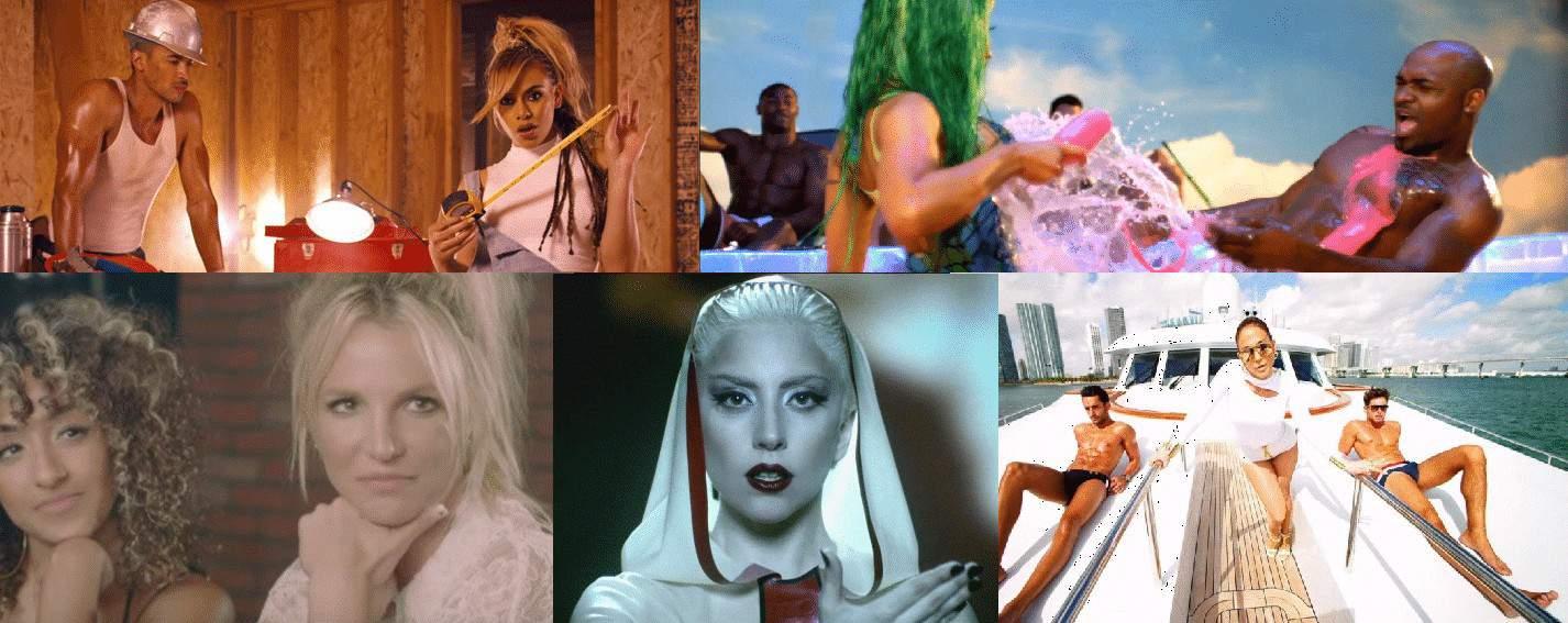Photo of 16 video di cantanti donne, dove l'uomo viene usato come oggetto!