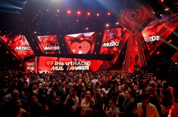 2018 Iheartradio Music Awards Stage Billboard