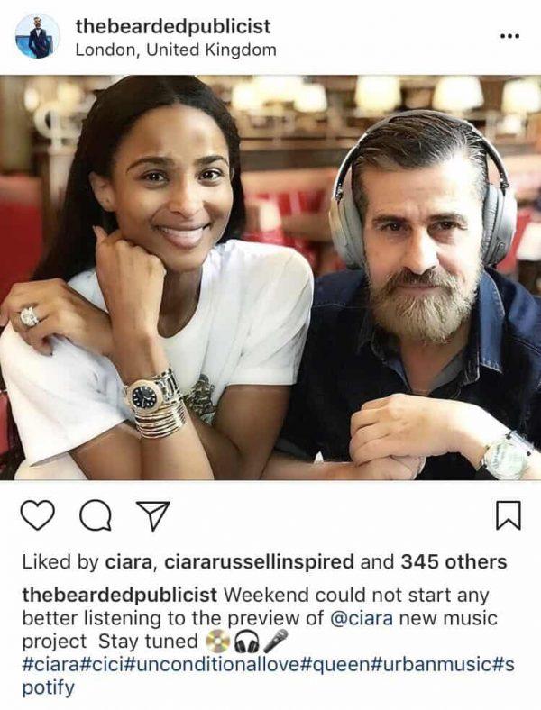 Ciara Nuova Musica 2018