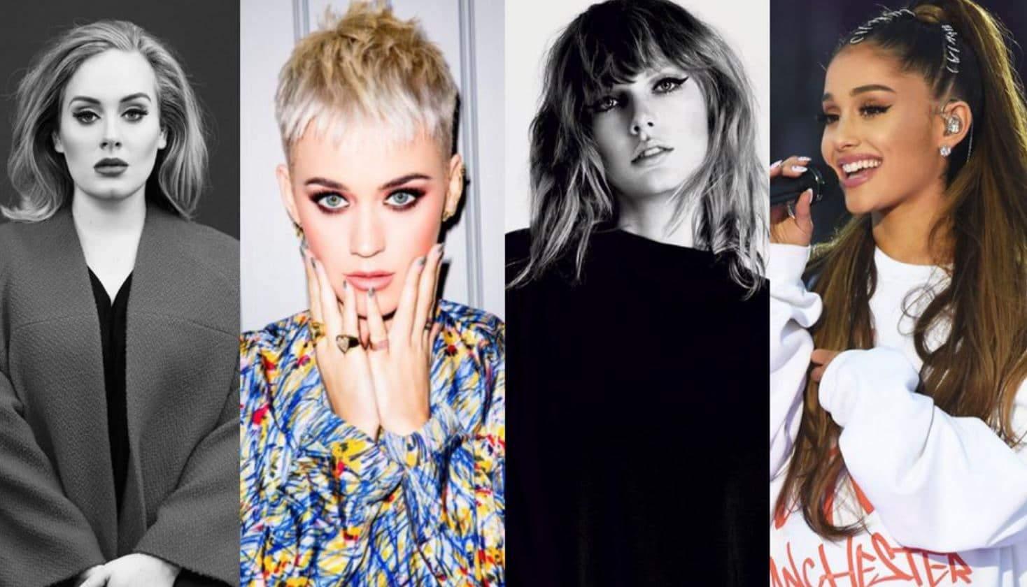 Photo of Ariana Grande batte Adele, ma rimane dietro a Taylor Swift su Spotify WW!