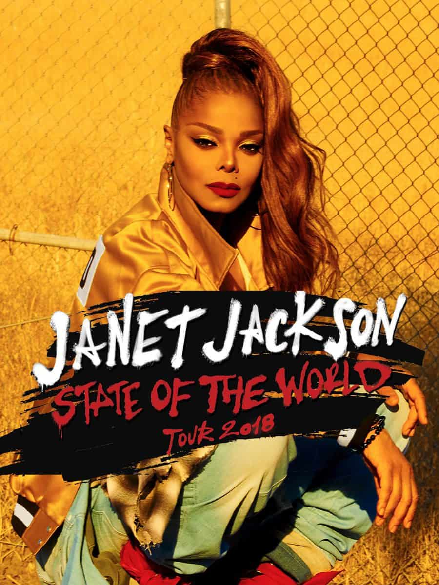 """Photo of Janet Jackson annuncia le nuove date del """"State Of The World Tour"""""""