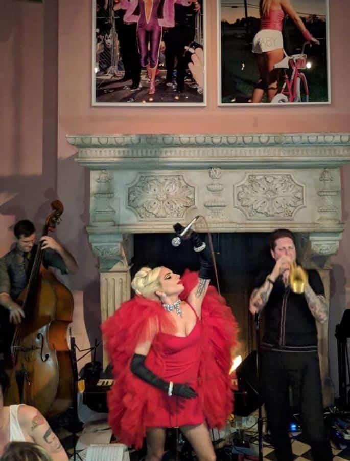 Gaga Surprise Performance